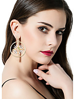 Women's Mismatch Earrings Rhinestone Fashion Mismatch Luxury Statement Jewelry Alloy Casual Unique Accessories For Birthday Gift Wedding Evening Party