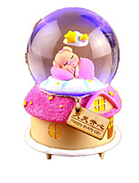 Balls Music Box Toys Round Plastics 1 Pieces Not Specified Birthday Gift