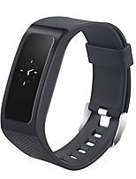 Smart-Armband Wasserdicht Long Standby Verbrannte Kalorien Schrittzähler Sport Herzschlagmonitor Touchscreen Blutdruck Messung