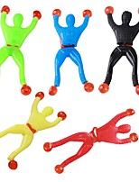3PCS Climbing Spider Sticky Climbing Wall Superman Nostalgic Toys for Children Kids Funny Toy Slime Viscous Climbing Wall Man Squeeze Ramdon Color