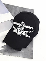 Women's Cotton Baseball Cap,Hat Print Spring/Fall