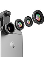 FLASH MINK Smartphone Camera Lenses  0.65X Wide Angle 10X Macro fish-eye lens CPL for ipod iphone Huawei xiaomi samsung