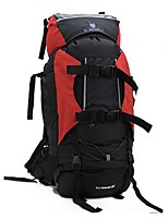 70 L Backpacks Hiking Rain-Proof Waterproof Zipper Low-friction Sweat-Wicking Breathability Oxford