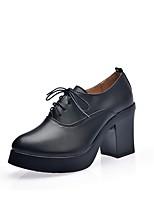 Da donna Tacchi Stivaletti alla caviglia Autunno Inverno Finta pelle Casual Nero 2,5 - 4,5 cm