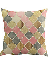 1 Pcs Colorful Geometry Pattern Printing Pillow Cover Creative Classic Pillow Case