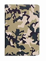 cheap -For Case Cover Card Holder Camouflage Color Pattern Full Body Case Camouflage Color Hard PU Leather for iPad Mini 4 Mini 3/2/1