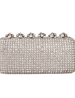 Women Bags All Seasons Glasses Evening Bag Rhinestone Sparkling Glitter for Wedding Event/Party Formal Gold Black Silver