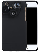Purecolor Mobile Phone Camera IPhone6 / 6s 4.7 Inch Wide Angle 0.65X Macro 180  Fish Eye With Mobile Phone Shell External Lens