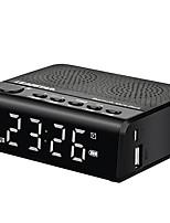 MX-19 Radio Fonction réveille Lecteur MP3 Minuterie de mise en veille Bluetooth Carte TFWorld ReceiverBlanc Rouge