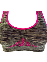 Women's Light Support Sports Bras Anti-Slip Breathability Lightweight Stretchy Sweat-Wicking Sports Bra Top for Yoga Running/Jogging Road