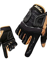 Sports Gloves Unisex Cycling Gloves Autumn/Fall Spring Bike Gloves Skidproof Protective Sweat-Wicking Durable Full-finger Gloves Lycra