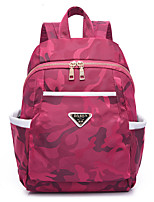 Women Bags All Seasons Oxford Cloth Backpack for Event/Party Casual Outdoor Office & Career Traveling Blue Black Amethyst Fuchsia
