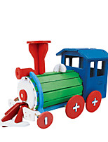 3D Puzzles Toys Train Vehicles Handmade Kids 1 Pieces