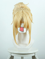 Fate/Apocrypha Red Saber Mordred Golden Anime Cosplay Wigs Wholesale Resale