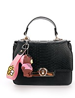 Women Bags All Seasons PU Shoulder Bag for Wedding Event/Party Casual Formal Outdoor Black Blushing Pink Yellow Brown
