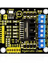 Keyestudio New L298N Shield Dual H Bridge DC Stepper Drive Controller Board Module for Arduino Smart Car Robot