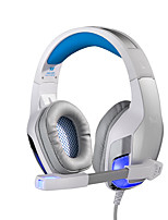 G5300 Metal Luminous Gaming Vibrating Headsets Bluetooth V2.0 Headband