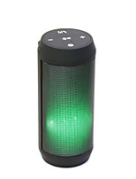 YPS-B53 color LE Lights Souble Speakers Large Diaphragm Plug Inserted U Mini Bluetooth Speaker Radio Subwoofer