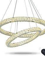 Dimmable runden Ring führte Decke hängende Licht LED-Beleuchtung moderne Kronleuchter Innen-Haus-Lampe mit Fernbedienung