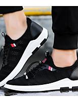Da uomo Sneakers Comoda Estate Tulle Casual Nero Grigio Piatto