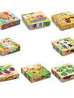 Puzzle 3D Gioco educativo Puzzle Giocattoli Gatto Animali Animali Non specificato Per bambini Pezzi