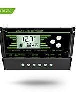 Y-soalr pwm 10a regolatore di carica solare 12v 24v con retroilluminazione lcd doppio usb 5v caricabatterie solare z10