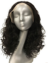 Lace Front Wig Dark Brown Curly Hair hairpiece Synthetic Heat Resistant Fiber wig for black women