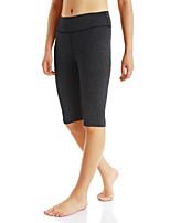 Per donna Pantaloncini da corsa Indossabile per Corsa Esercizi di fitness Tessuto sintetico Nero Grigio chiaro Grigio scuro S M L XL