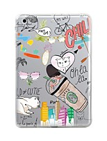 cheap -Case for iPad (2017) Pro10.5 Cover Transparent Pattern Back Cover Case Cartoon Soft TPU for iPad Pro12.9 Pro9.7 Air Air2 iPad234 mini123 mini4