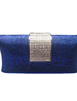 Women Bags Spring Summer PVC Evening Bag Crystal for Wedding Event/Party Gold Black Navy Blue