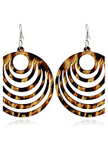 Women's Earrings Set Basic Geometric Vintage Wood Alloy Jewelry For Gift Evening Party Club Street