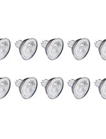 6W GU10 Faretti LED MR11 1 COB 1 lm Bianco caldo Luce fredda 6500 K 220 V