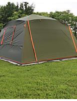 5-8 personnes Tente Unique Tente de camping Une pièce Tente pliable Etanche Pare-vent Ecran Solaire Protection Solaire Anti-déchirure pour