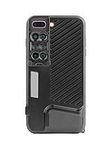 Cofre do telefone móvel voliee com lentes de câmera do smartphone grande angular 20x lente de olho de peixe macro para iphone 7 plus