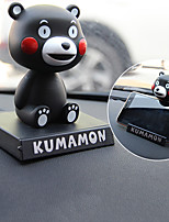DIY Automotive  Ornaments Cartoon Cute Shaking His Head Doll Car Pendant & Ornaments  PVC