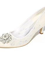 Da donna scarpe da sposa Decolleté Primavera Estate Tulle Matrimonio Serata e festa A stiletto Nero Arancione Blu Rosa Avorio 5 - 7 cm