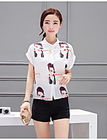 Women's Casual/Daily Simple Summer Shirt Pant Suits,Sexy Lady Crew Neck Short Sleeve