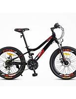 Mountain Bike Cycling 21 Speed 22 Inch SHIMANO Double Disc Brake Suspension Fork Aluminium Alloy Frame Ordinary/Standard Anti-slip