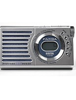 618A Radio portable Lecteur MP3 Carte TFWorld ReceiverArgent