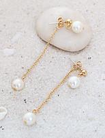 Per donna Orecchini a bottone Orecchini a goccia Classico Perle finte Gioielli Per Matrimonio Feste Compleanno Fidanzamento
