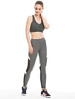 Yoga & Dansesko Tights Hurtig Tørre Påførelig Åndbarhed Høj Elasticitet Høj Elasticitet Sportstøj Dame Yoga Løbe Pilates Træning & Fitness