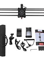 Andoer gp-80qd 80cm fibre de carbone caméra motorisée piste slider dolly stabilisateur vidéo avec suivi panoramique pour dslr camera