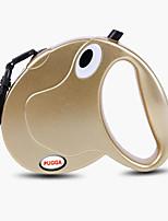 Тренировочные ошейники для собак Поводки Hands Free Поводок Компактность Низкий шум Двусторонний Дышащий Автоматический Однотонный Нейлон