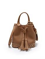 Women Bags All Seasons PU Shoulder Bag for Office & Career Blue Black Brown