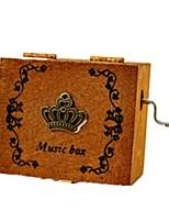 Music Box Toys Carousel Plastics Wood Pieces Unisex Birthday Valentine's Day Gift