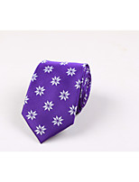 Men's Polyester Neck Tie,Casual Print All Seasons