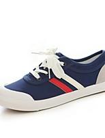 Damen Sneaker Komfort Leuchtende Sohlen Tauchschuhe Herbst Denim Jeans Normal Flacher Absatz Weiß Schwarz Blau Flach