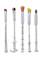 1set Set di pennelli Pennello di nylon N/D Metallo Viso