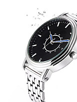 YAZOLE Men's Dress Watch Wrist watch Casual Watch Chinese Quartz Alloy Band Casual Silver
