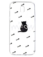 Case for Samsung Galaxy J7(2017) J5(2017) Transparent Pattern Back Cover Cat Animal Soft TPU J7 Prime J7(2016) J5Prime J5(2016) J3(2017) J3(2016)